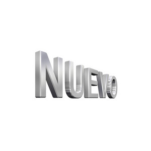 Spanish New Sign Isolated On White.