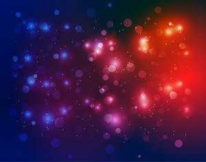 Sparkles Bokeh Background