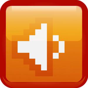 Speak Volume Orange Tiny App Icon