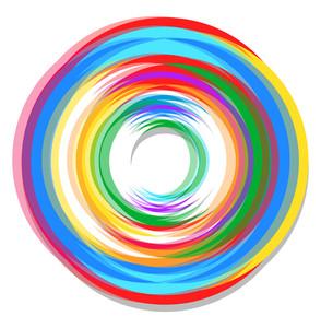 Spectrum Circle Design