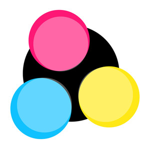 Spectrum Colored Circles