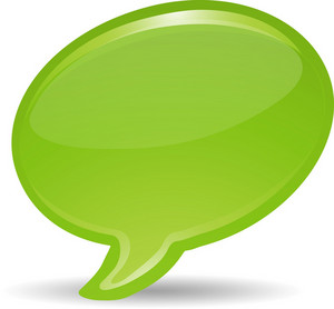 Speech Bubble Lite Communication Icon