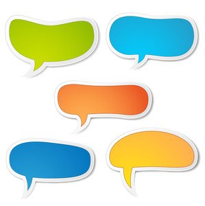 Speech Bubble Vector Designs