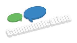 Speech Bubbles Communication Banner