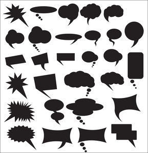 Speech Bubbles Shapes