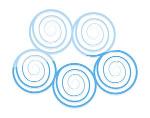 Spiral Balls Cloud