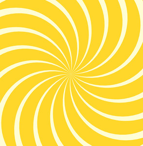 Spiral Sunburst Background