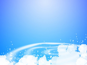 Splash Blue Background