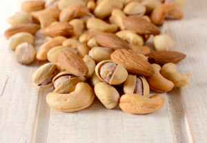 Splashed Mixed Nuts
