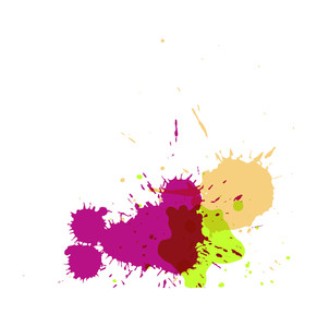 Splashes Vector Background