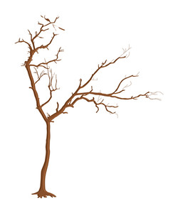 Spooky Dead Tree