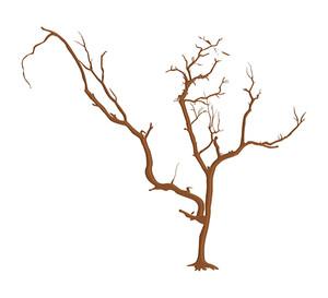 Spooky Halloween Dead Tree