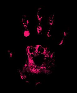 Spooky Halloween Hand Print