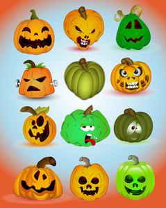 Spooky Halloween Vectors