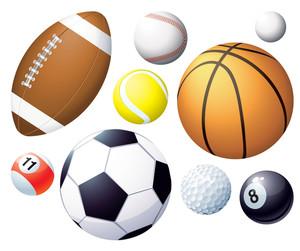 運動球。向量。