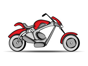 Sports Motorbike.