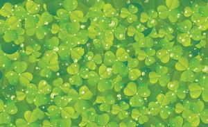 Spring Clover Vector Illustration