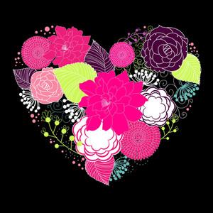 Spring Flower Valentine