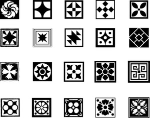 Square Patterns Set