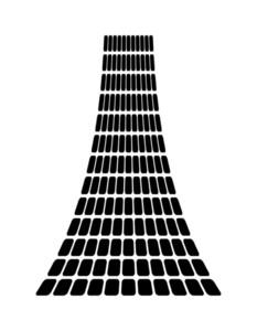 Squares Pattern Design Graphic