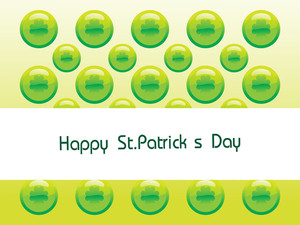 St. Patrick Circle Shape Design