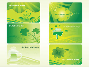 St. Patrick's Banner Illustration For 17 March