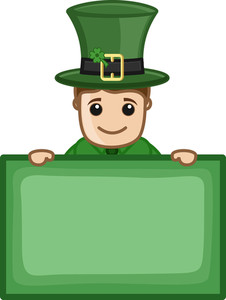 St. Patrick's Day - Business Cartoon Characters