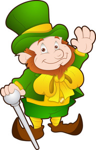 St. Patrick's Day - Cartoon Character