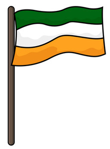 St. Patrick's Day Flag
