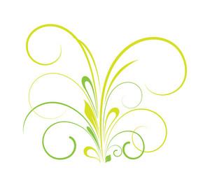 St. Patrick's Day Flourish Element