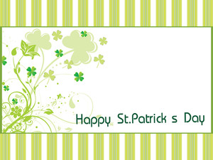 St. Patricks Day Greeting Card