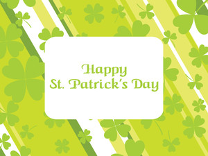 St. Patrick's Day Strips Background
