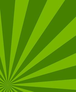 St. Patrick's Day Sunburst Background