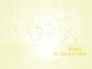 St. Patrick's Mug Background
