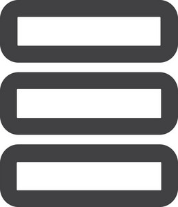 Stack Of Materials Stroke Icon