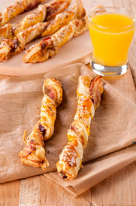 Bacon Pastry