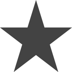 Star 2 Glyph Icon