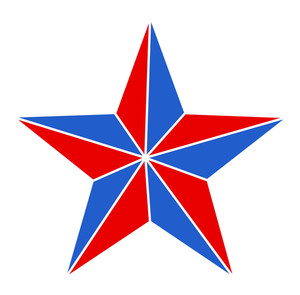 Star 4th Of July Vector
