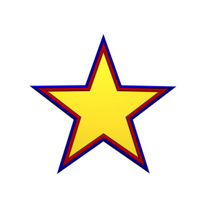 Star Icon From Set Of Four.