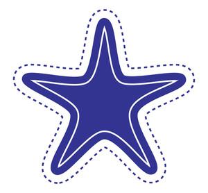 Star Label Sticker