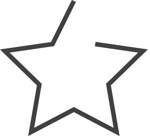 Star Minimal Icon