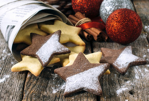 Star Shape Gingerbread