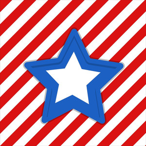 Star Us 4th Of July Independence Day Vector Design