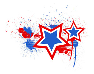 Stars 4th Of July Vector Theme Design