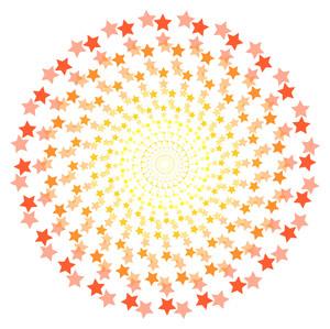Stars Pattern Circle