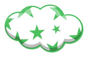 Stars Pattern Cloud