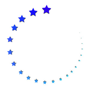 Stars Processing Icon