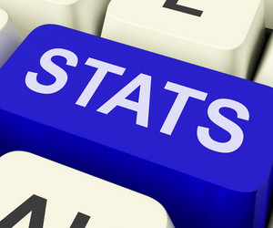 Stats Key Shows Statistics Report Or Analysis