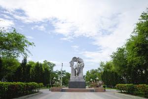 Statue of a Soldier Vietnam