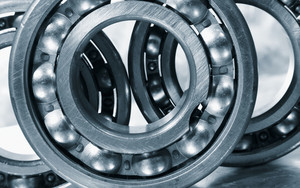 steel bearings and gears